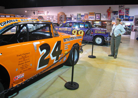 Auto Racing Hall Fame on From The Racing Hall Of Fame We Drove About 20