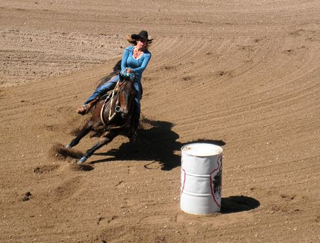 Barrel Racing_0023