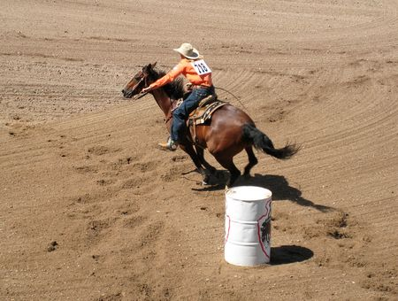 Barrel Racing_0032