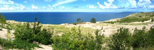 Sleeping Bear Dunes Panorama3