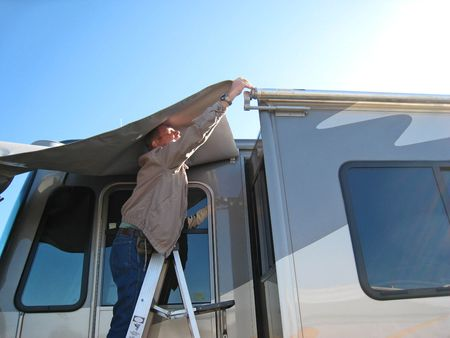 Living Our Dream Motor Home Project Replace Slide Toppers