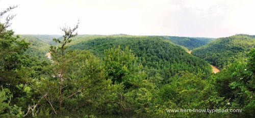 Bear Creek Overlook Panorama