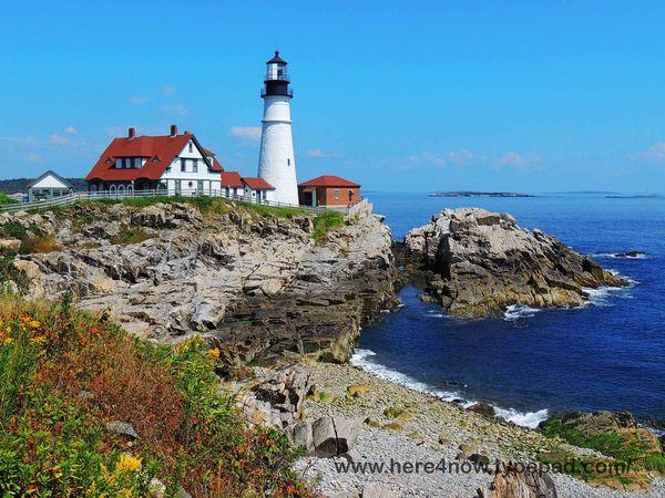 Lighthouse Driving Tour Portland Maine
