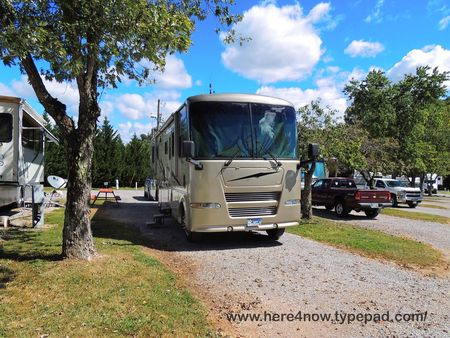 Living Our Dream Tennessee Campgrounds
