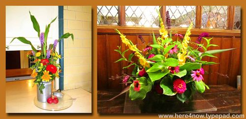 Stan Hywet Flower Arrangements