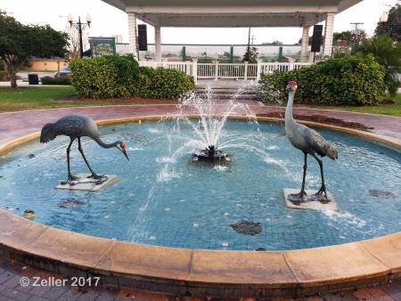 Sandhill Crane Fountain_08