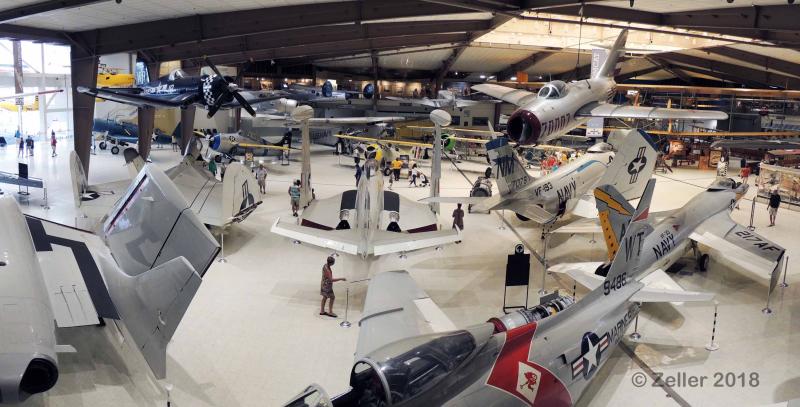 Naval Avation Museum Panorama