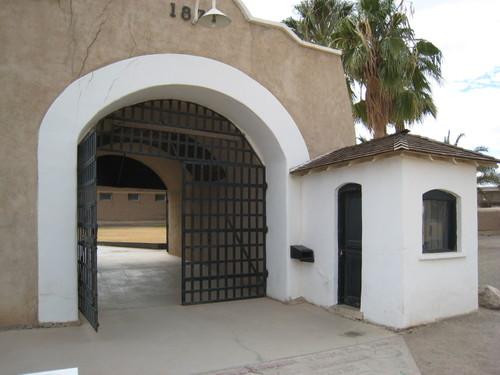 Sallyport at Yuma Prison