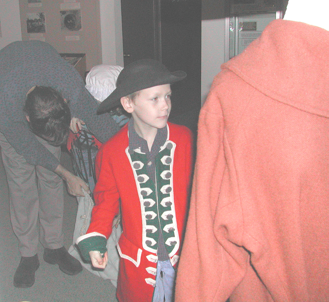 Youngster in Costume